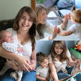 Sophie and babies