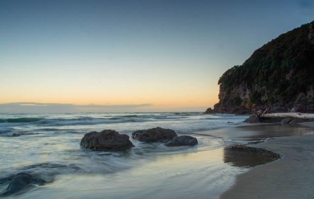 Waihi sunrise April 2-11
